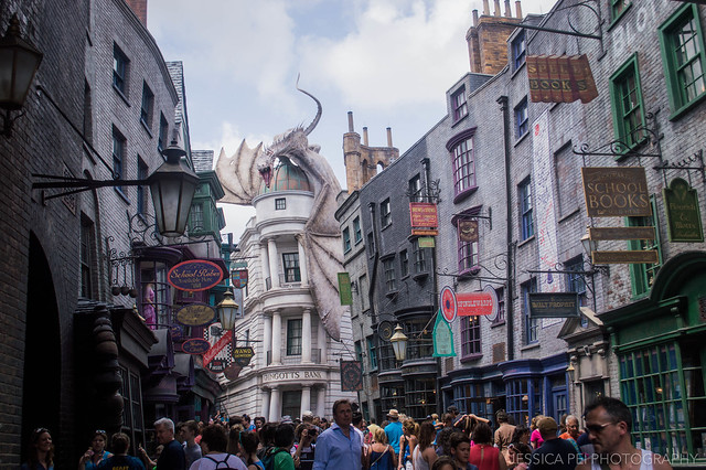 Universal Studios Harry Potter World Diagon Alley