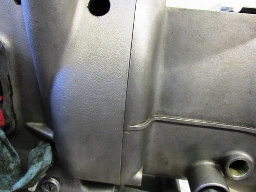 Transmission Ears Aligned With Clutch Housing