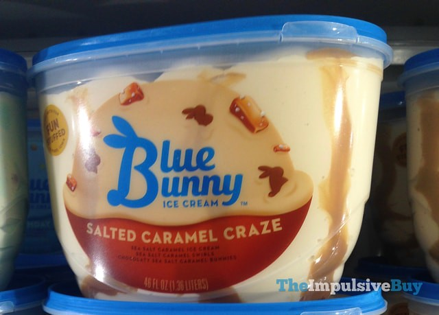 Blue Bunny Salted Caramel Craze Ice Cream