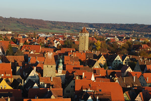 Rothenburg ob der Tauber from tower