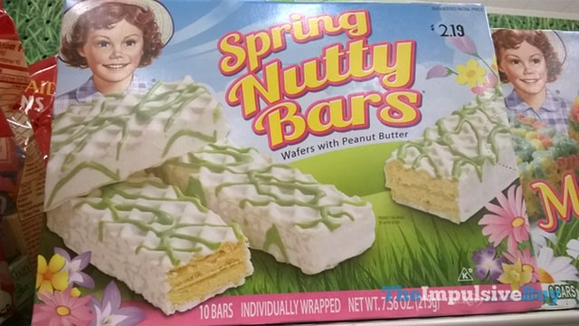 Little Debbie Spring Nutty Bars