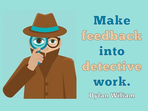 Slide - Feedback as Detective Work