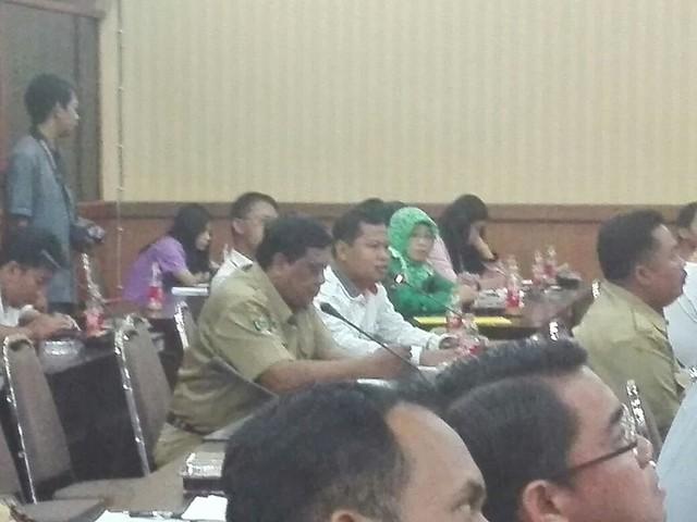 Suprihno dalam Fakus Group Discussion (FGD) yang di selenggakan KPU Kabupaten Blitar (28/3)