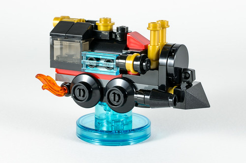 REVIEW LEGO Dimensions 71230 Doc Brown Fun Pack 6