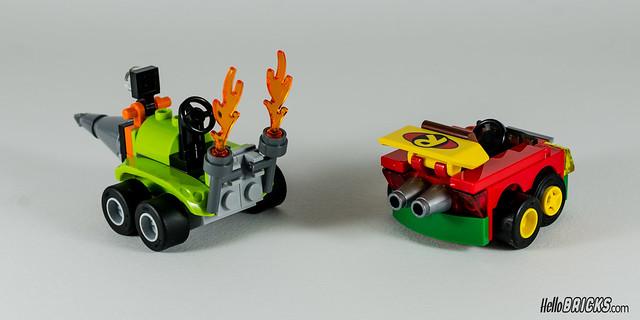 REVIEW LEGO 76062 Mighty Micros Robin vs Bane (HelloBricks)
