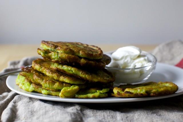 swiss chard pancakes