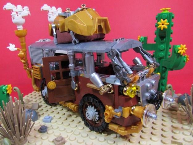 Steampunk Volkswagen Camper