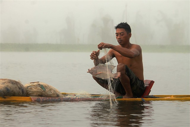 Agusan Manobo Fisherman