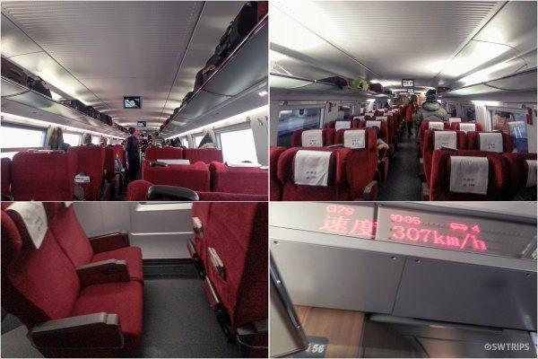 Beijing - Guangzhou Bullet Train - China