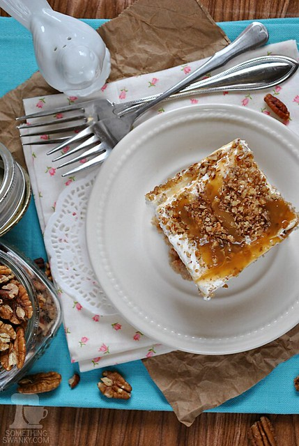 Carrot Cake Poke Cake (Something Swanky)