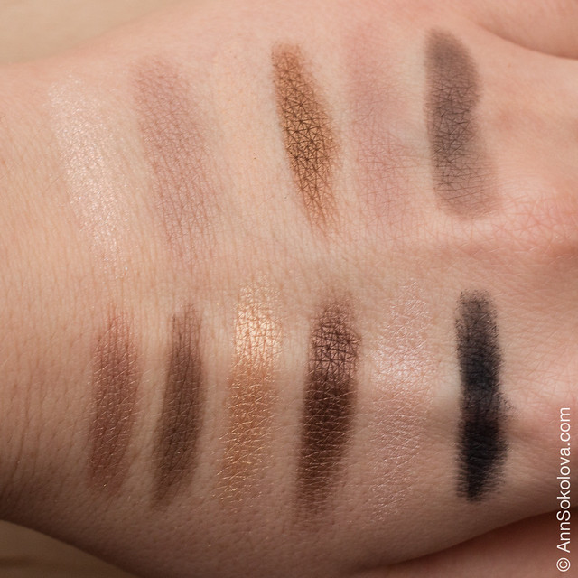 05 Maybelline The Nudes swatches