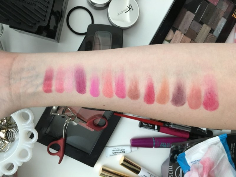 Be Legendary Matte Lipstick Palette by Smashbox #12
