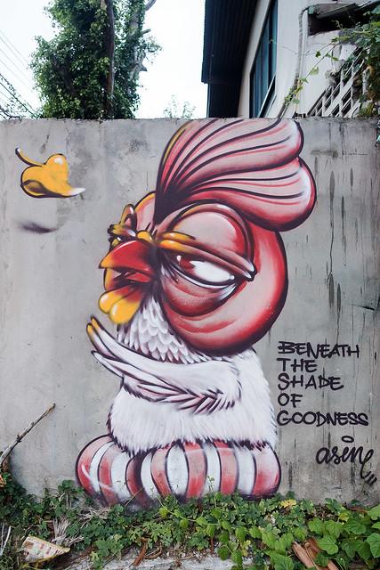 Chiang Mai Street Art 42