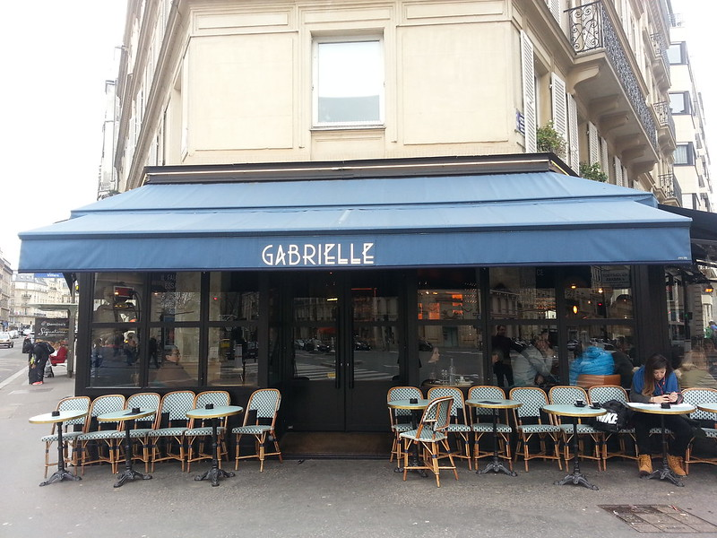 Gabrielle Cafe Paris facade