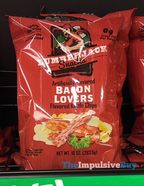 LumberJack Snacks Bacon Lovers Kettle Chips