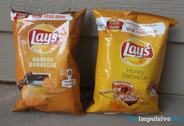 Lay's Korean Barbecue Potato Chips Head-to-Head 1