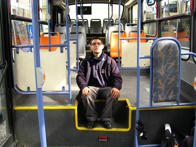 Transantiago (E12) - Unitran - Busscar Urbanuss Pluss / Mercedes Benz (BJFP42)