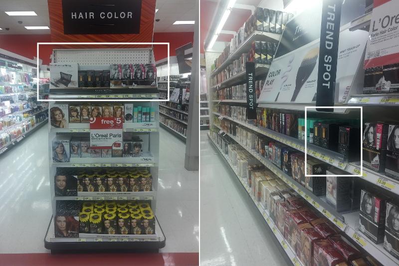John Frieda, hair color, Target