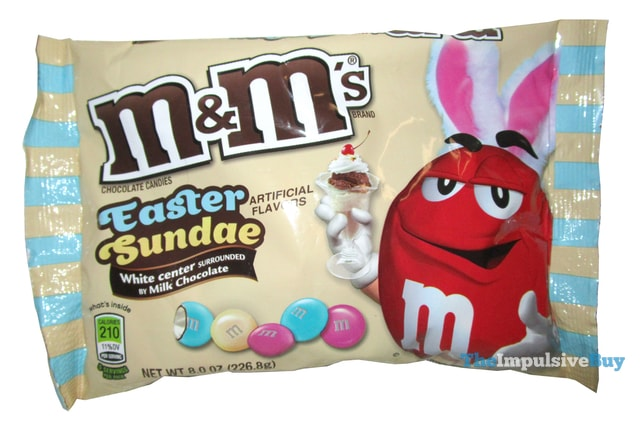 Easter Sundae M&M's