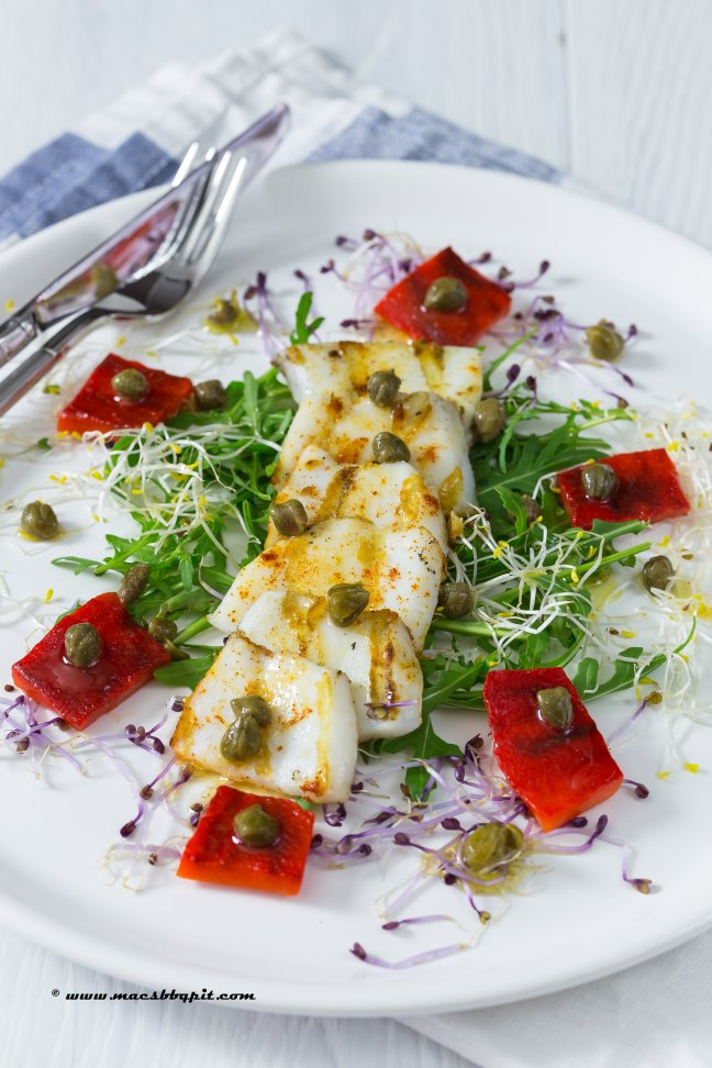 Inktvis salade