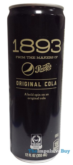REVIEW: Pepsi 1893 Original Cola