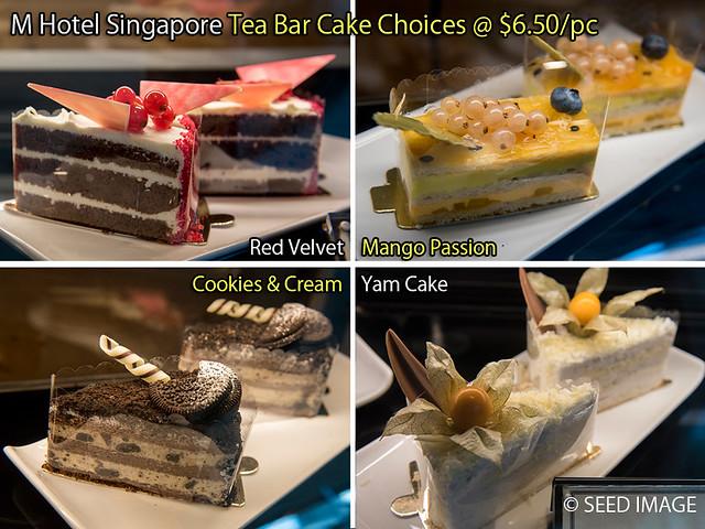 M Hotel Singapore Tea Bar Cake