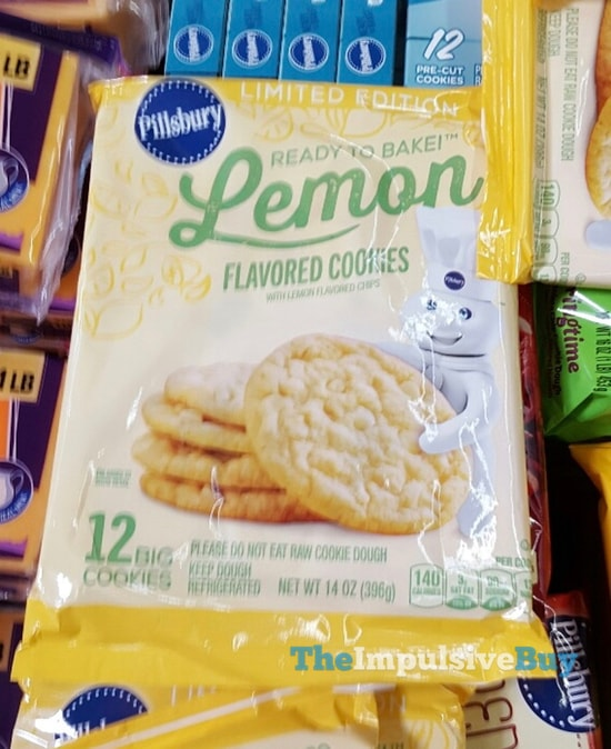 Pillsbury Limited Edition Lemon Flavored Cookies