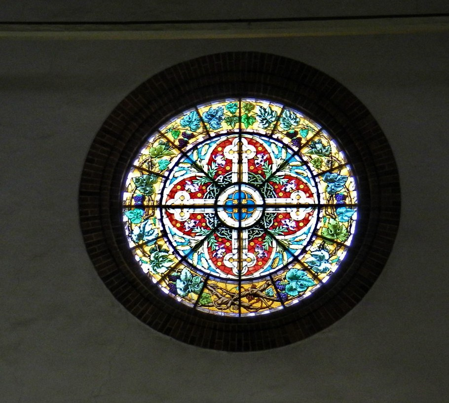 Vidrieras Catedral Luterana Santa Maria o de la Cúpula Riga Letonia 09