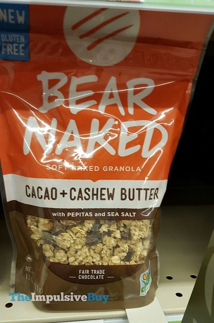 Bear Naked Cacao + Cashew Butter Soft Baked Granola