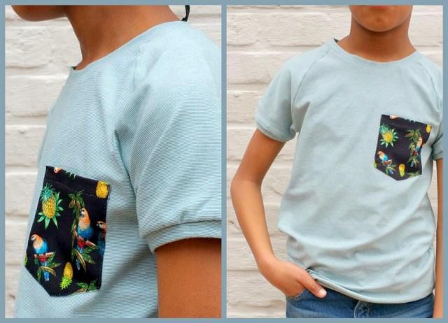 billie t-shirt (collage)