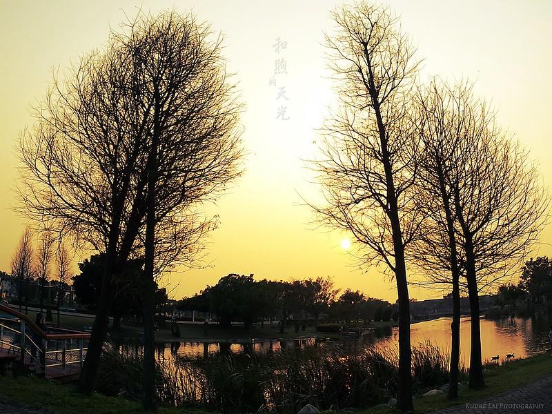 和煦的天光(sunset sky)