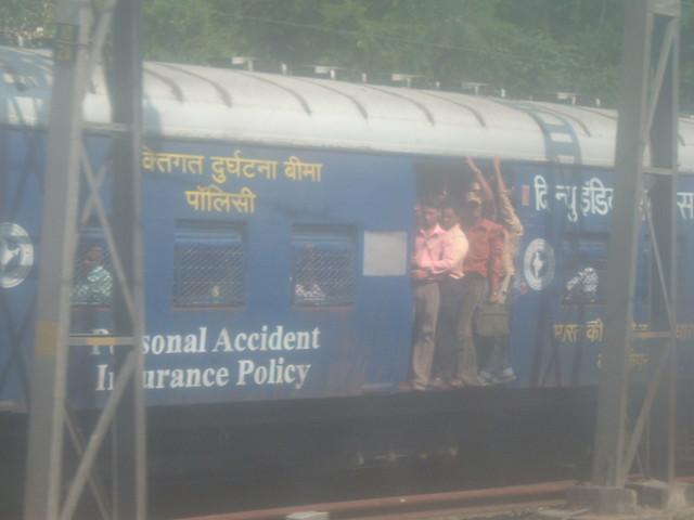 Mumbai's famous railway system