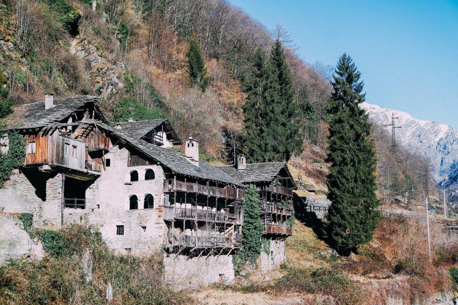 Abitazioni Walser a Fontainemore