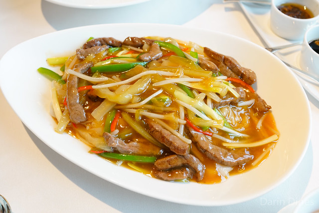 Fried Rice Noodles with Shredded Beef and Preserved Vegetables