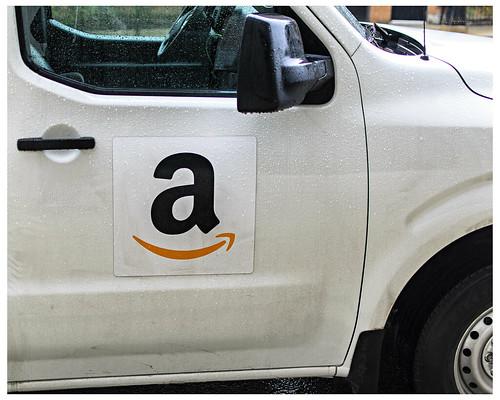 Amazon.com Delivery Truck