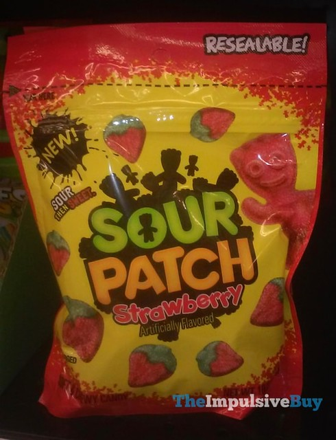 Sour Patch Strawberry Resealable Pouch
