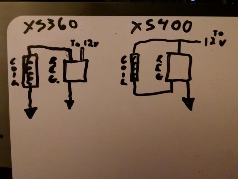 Xs400 Wiring Diagram On Xs400 Rectifier Regulator Wiring Diagram