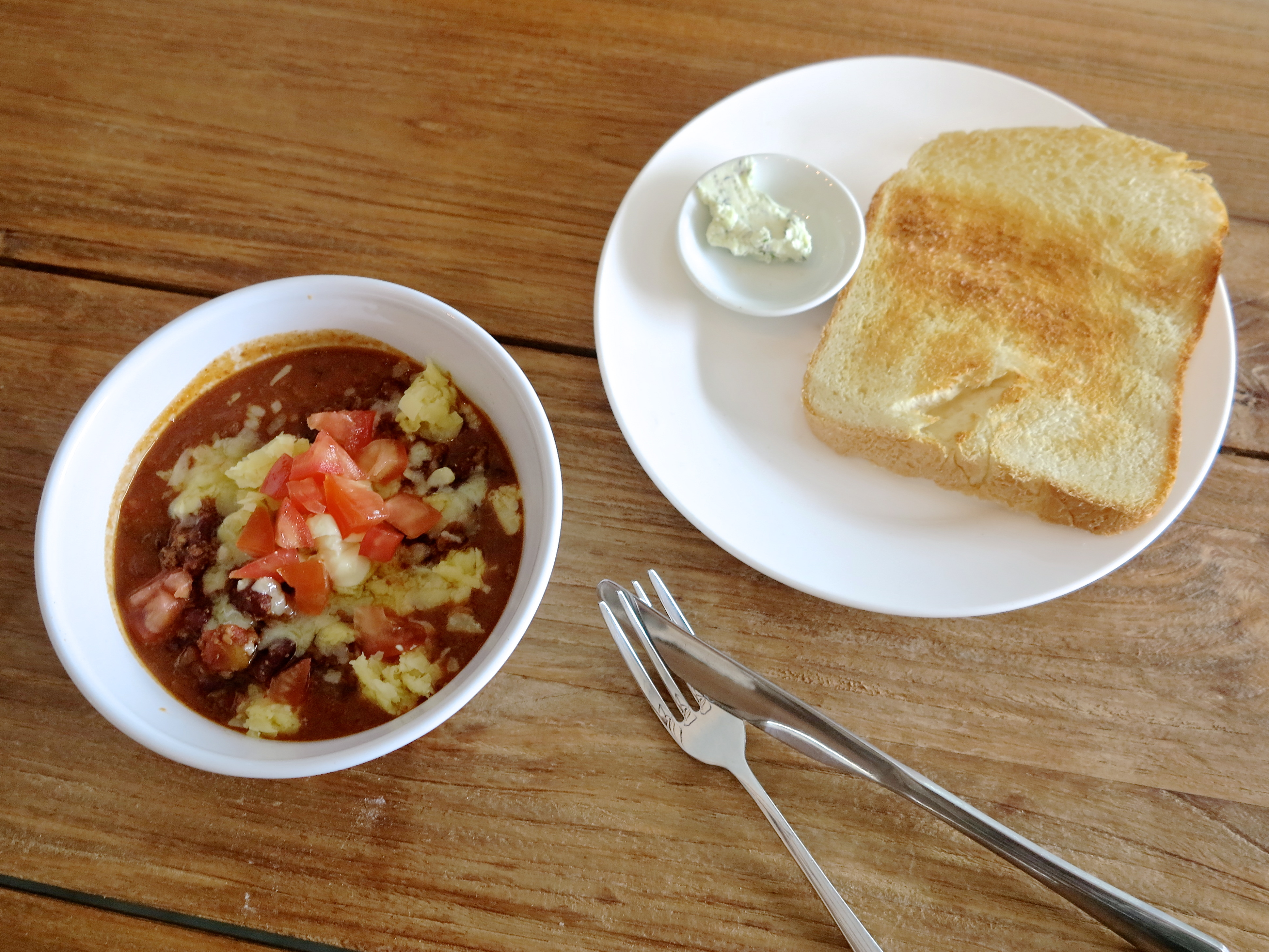 Southern Style Chili With Warm Homemade Bread