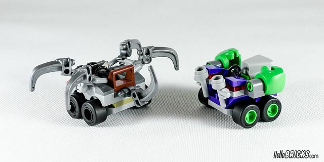 REVIEW LEGO 76066 Mighty Micros Hulk vs Ultron (HelloBricks)