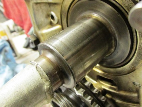 Crankshaft Before Polishing