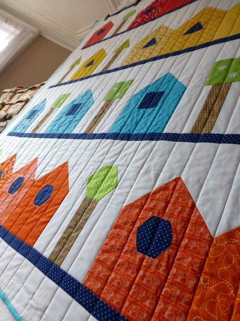 Shape Sorter Street Quilt / Popular Patchwork (April'16)