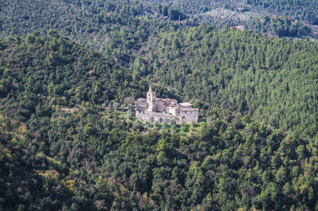 Convento abbandonato presso Narni