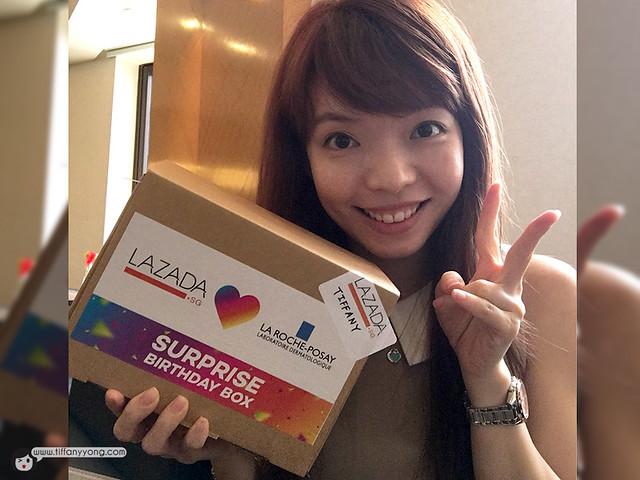 Lazada Singapore Mystery Box Tiffany Yong