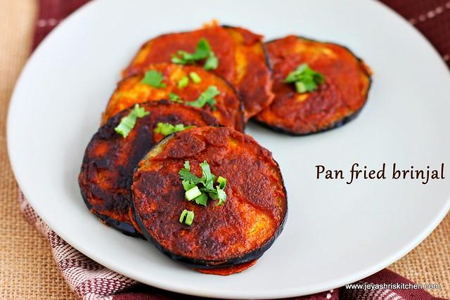 pan fried eggplant