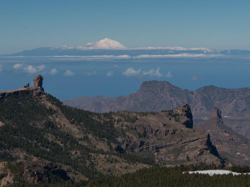 Fotos La Gran Nevada de Febrero 2016 Cumbre de Gran Canaria