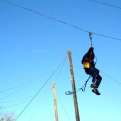 Wheelchair Zip Wire Power Lift Chair Recliners Zipwire Kendal Holmescales Activity Centre Over 120 Feet 0 00