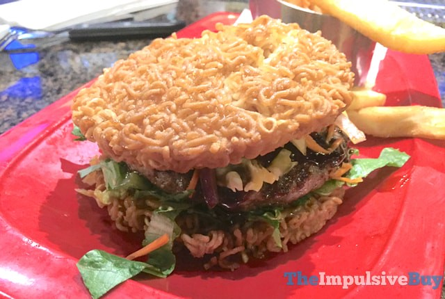 Red Robin Red Ramen Burger