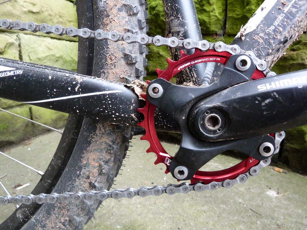 e-thriteen Kettenblatt 30Z schmal-breit montiert / e-thriteen chain ring 30T narrow-wide mounted