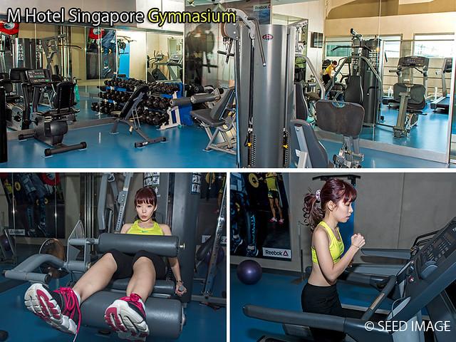 M Hotel Singapore Gymnasium
