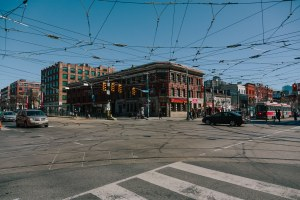 Streetcar Lines overhead